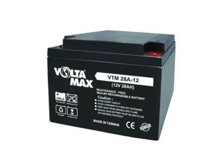 باتری یو پی اس ولتامکس 28 آمپر Voltamax VTM 12-28AH UPS battery